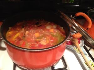 Southwestern Barley Stew