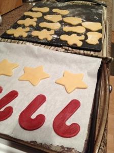 Cut into any holiday shapes! Be creative!