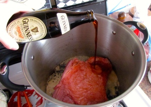 The key to these dishes to to cook your corned beef right...no amount of Guinness is too much! (For the cook either ;) )
