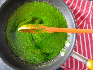 Celebrate National Spinach Day with this sauce chocked full of the good for you nutrients!