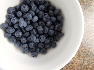 Yum, blueberries are one of my favorites!