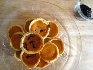 Bite sized pumpkin pies